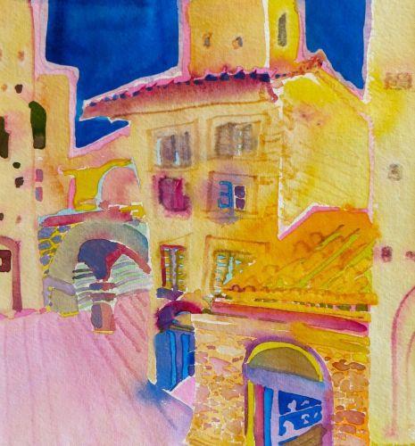 """#1891  """"San Gimignano, Tuscany, Italy""""  SOLD"""