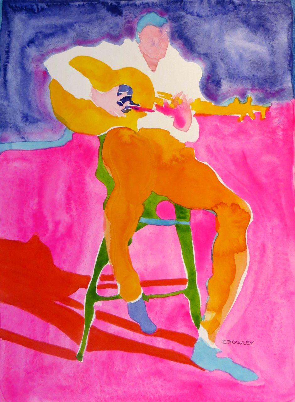 "#2177  ""Spanish Flamenco Guitarist"""