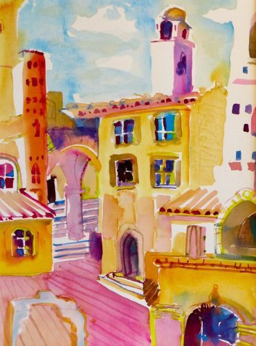 """#1881 """"San Gimignano, Tuscany, Italy""""  SOLD"""