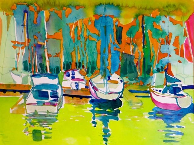 "#1834 ""East Coast Marina""   SOLD"