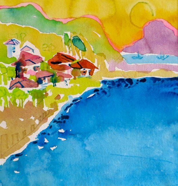 """1823  ""Morning in Montemvasia, Greece"""