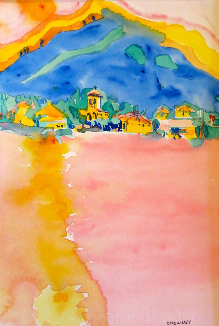 """# 2220  """"Sunset on Lake Como"""""""