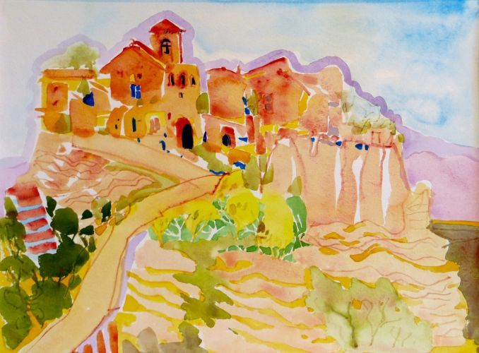 "#1887  ""Civita Umbria, Italy""  SOLD"