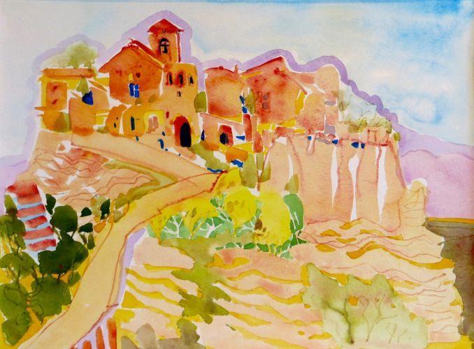 """#1887  """"Civita Umbria, Italy""""  SOLD"""