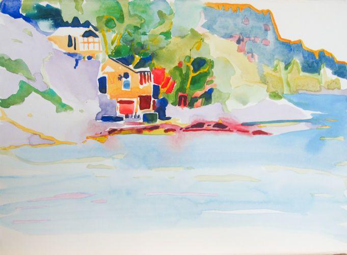 """#1519 """"Boho Cove, B.C."""" SOLD"""