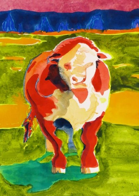 "#1814  ""California Cow""  SOLD"