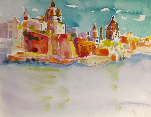 "#2087 ""Valleta, Gozo"" SOLD"