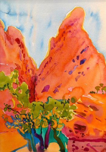 """1933  ""Burr Trail""  SOLD"