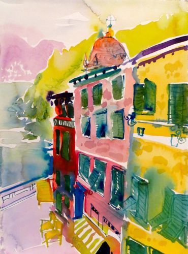 "#1872 ""Vernazza""  SOLD"