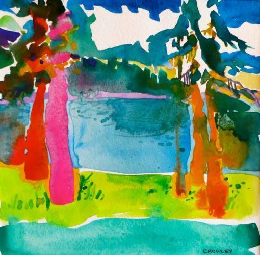 """#1785  """"Summer at Lake Almanor""""   SOLD"""