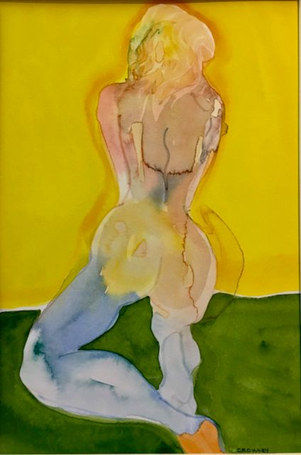 "#857 ""Kneeling Figure"""