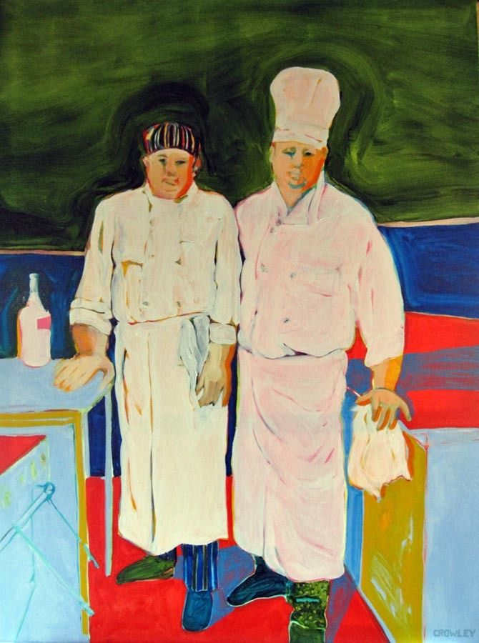 """The Chefs""  SOLD"