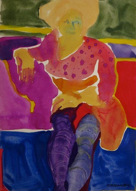 "#1786  ""Lavender Stockings"""