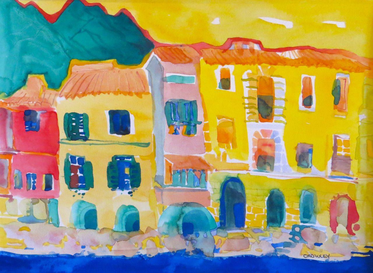 """#2236  """"Malcesine, Lake Garda, Italy"""""""