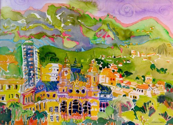 """#1963  """"Monte Carlo, Monaco""""  SOLD"""