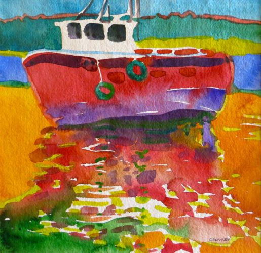 "#2034  ""Beached""  SOLD"