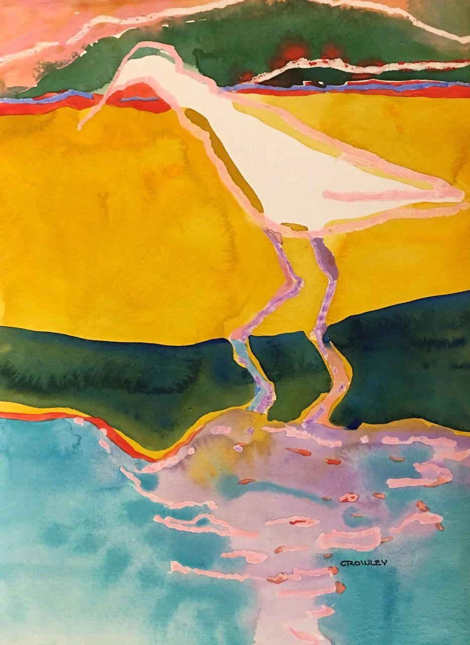 """# 2181  """"Shoreline Heron"""""""
