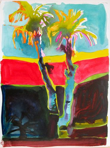 "#1543 ""Double Palms"" SOLD"