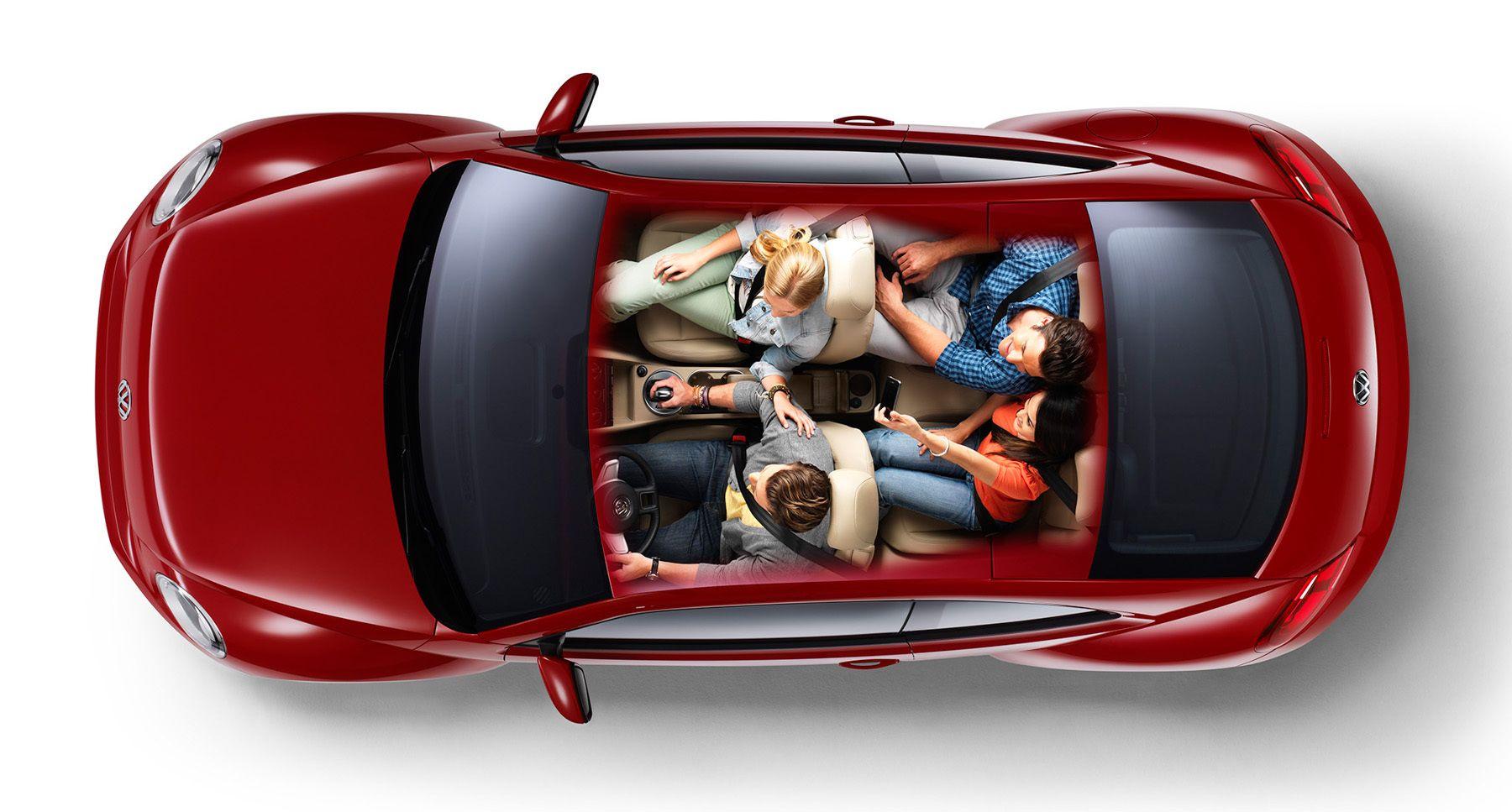 VW Beetle Overhead