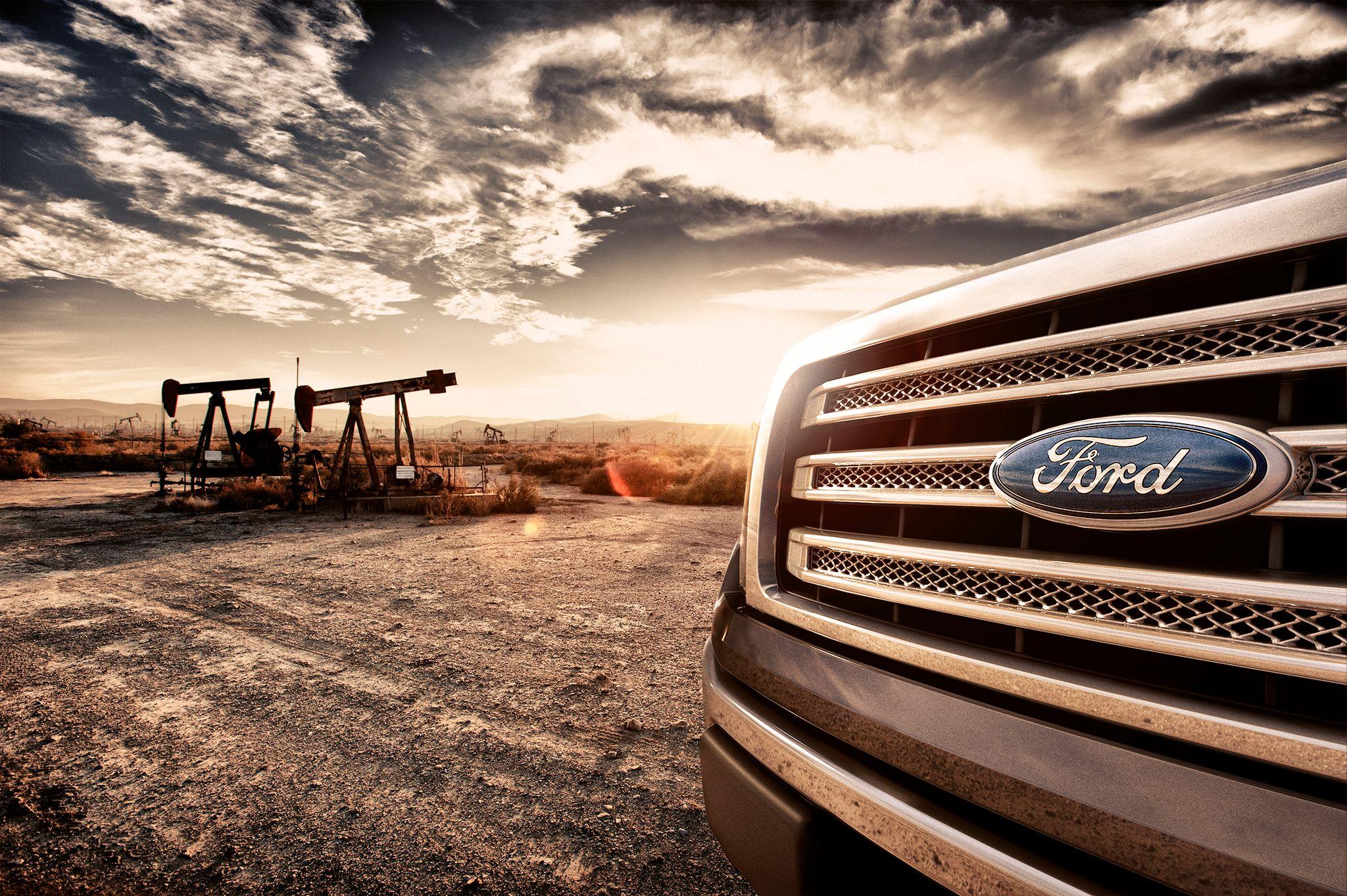 Ford F150 Taft Oil Field