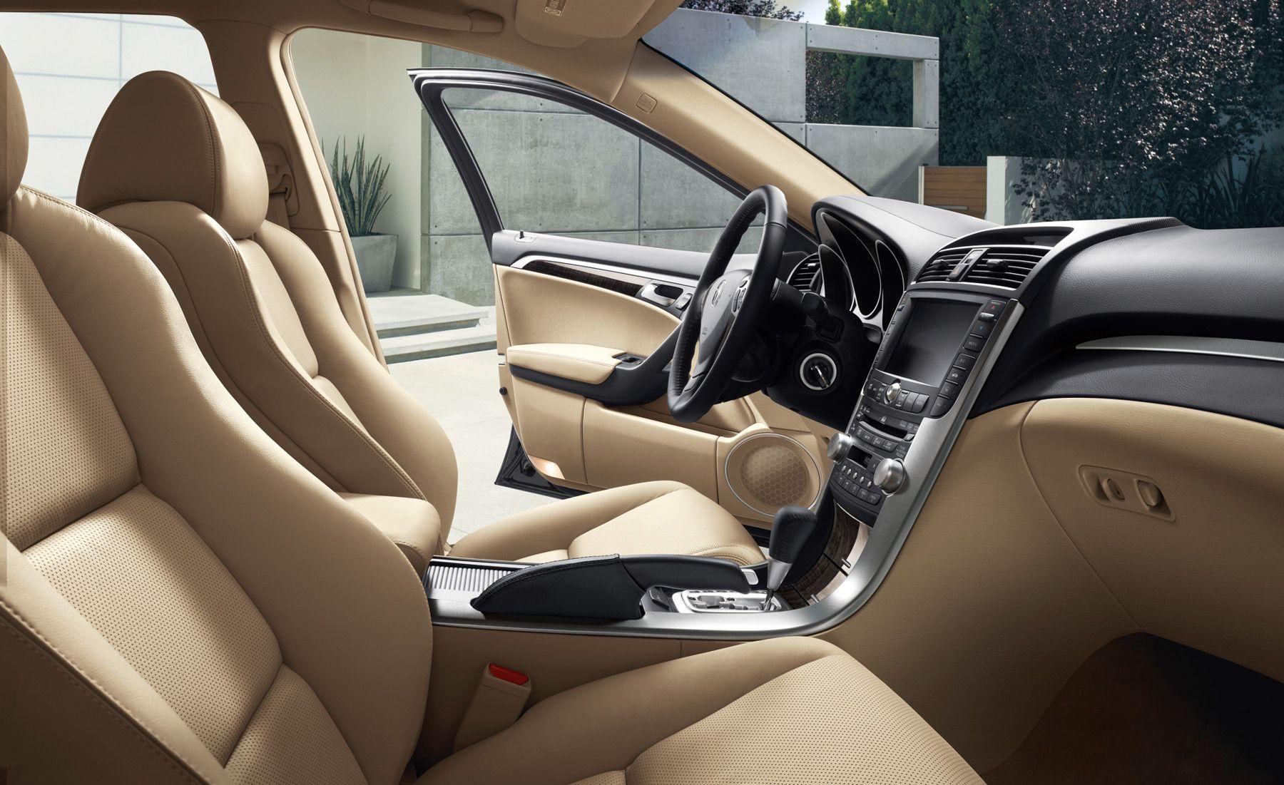 Acura TL interior