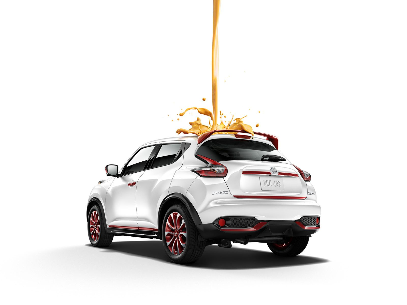 Nissan Juke Paint Splash