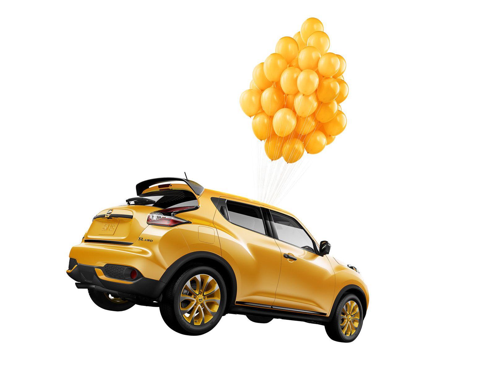 Nissan Juke Balloons