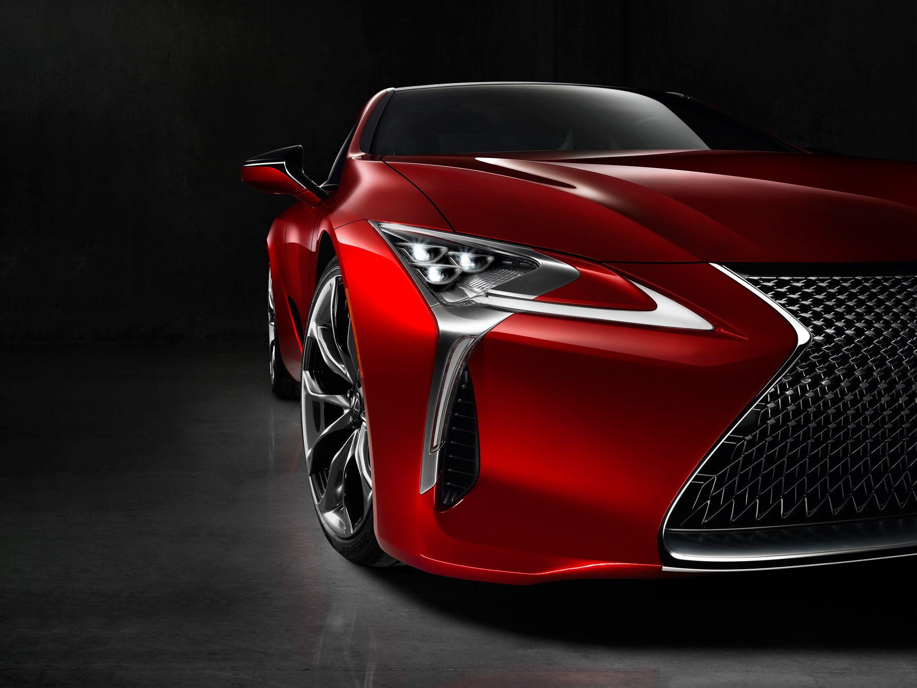 Lexus LC500 Front Detail