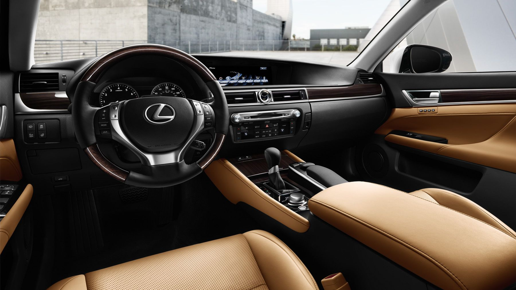 Lexus GS Interior Cockpit