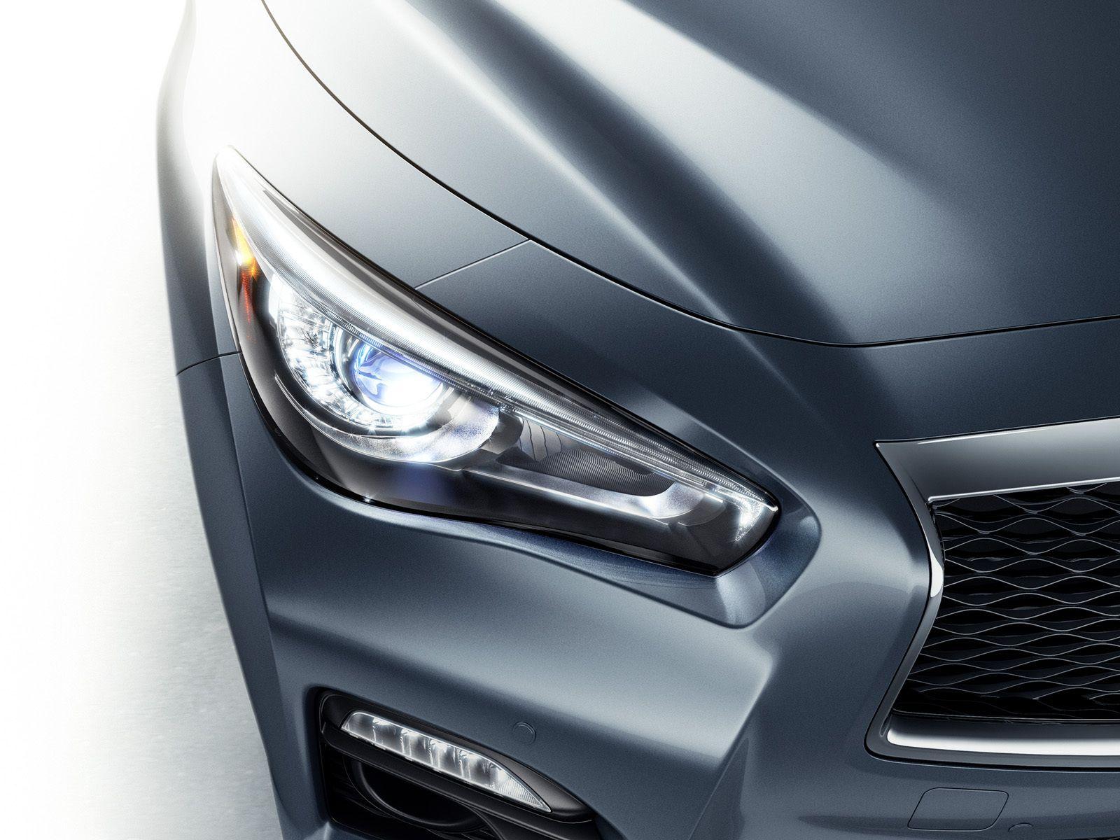 Infiniti Q50 headlight