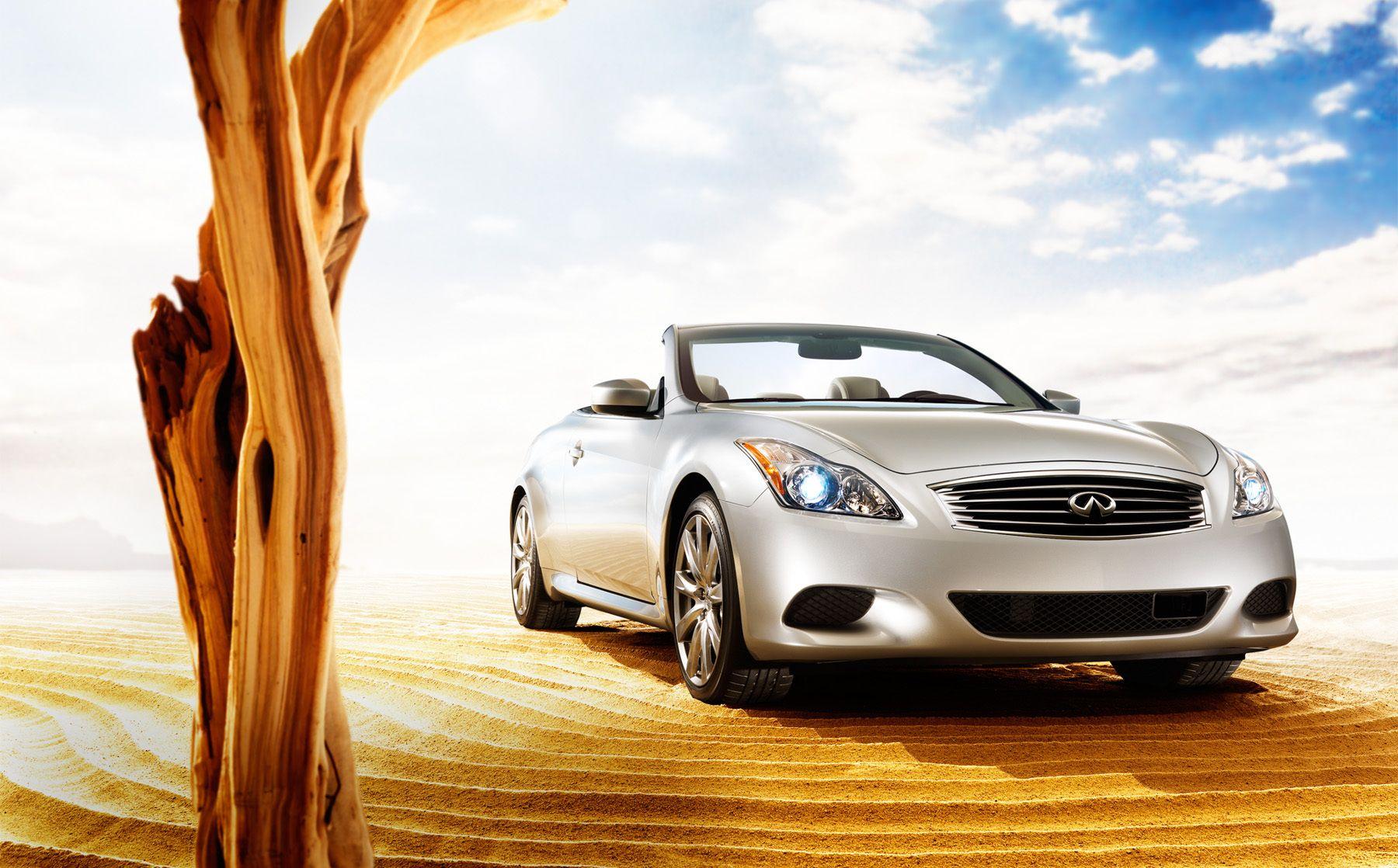 Infiniti Coupe Desert