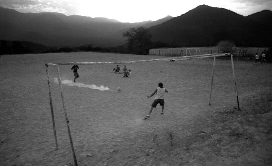DUSTY SOCCER FIELD