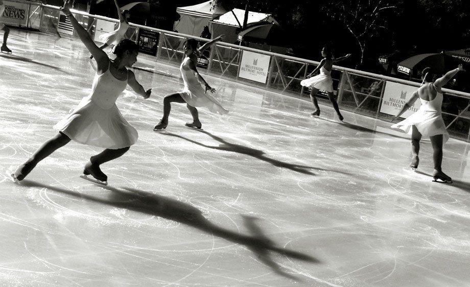 SHADOWS ON ICE