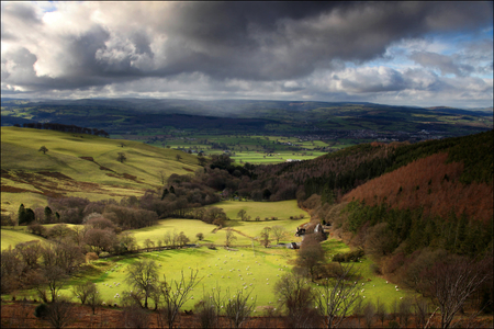 Vale of Clwyd, Ruthin, North Wales.
