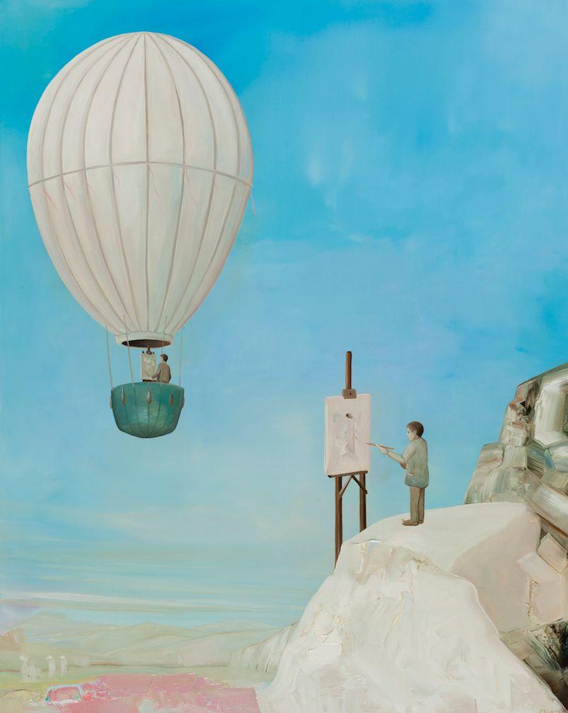 Dream of Cappadocia #2, Hermit Painter.
