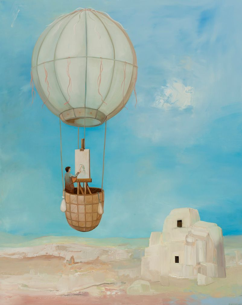 Dream of Cappadocia #1, Hermit Painter