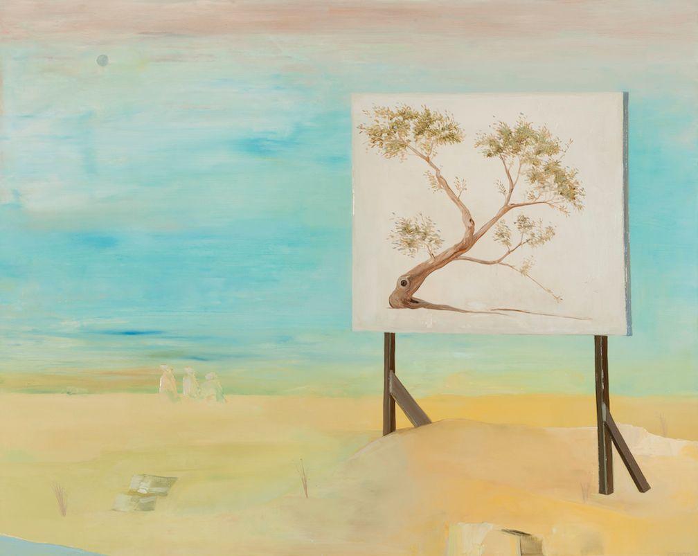 Billboard for a Tree