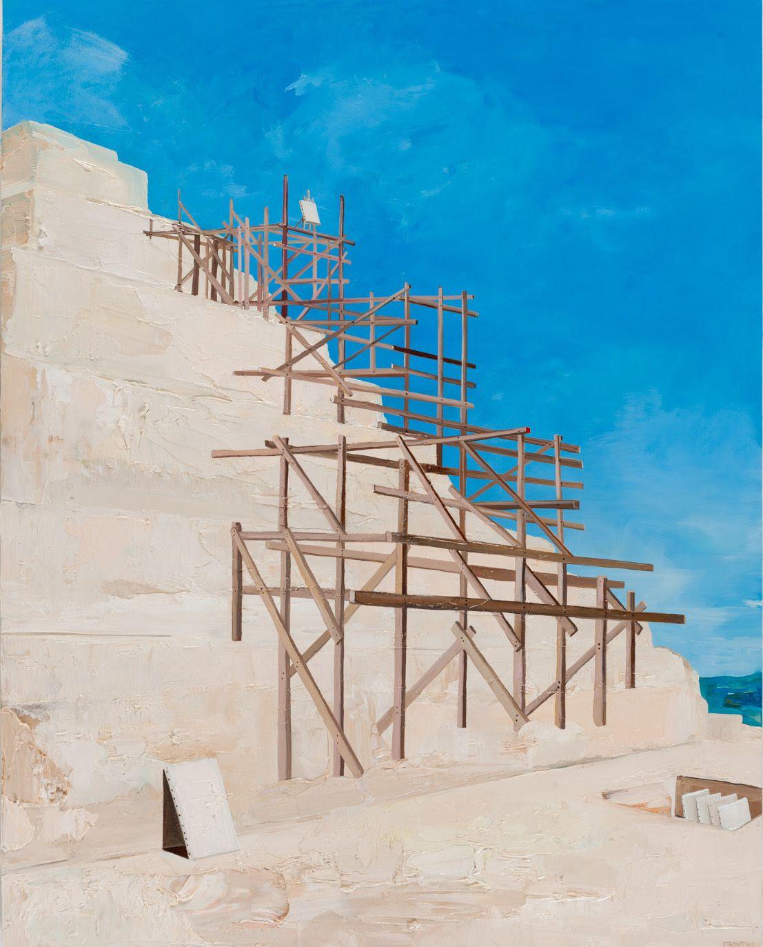 Proposal for Painting Exhibition at Saqqara