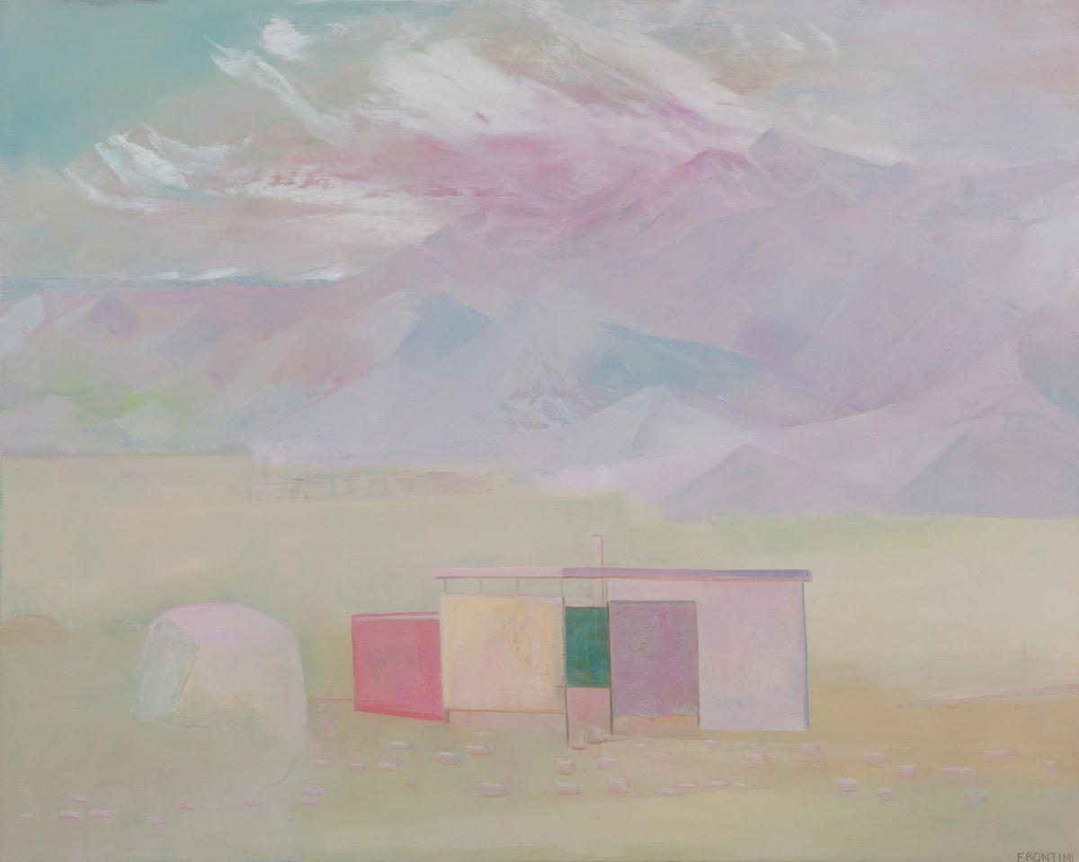 Canvas Desert House #1