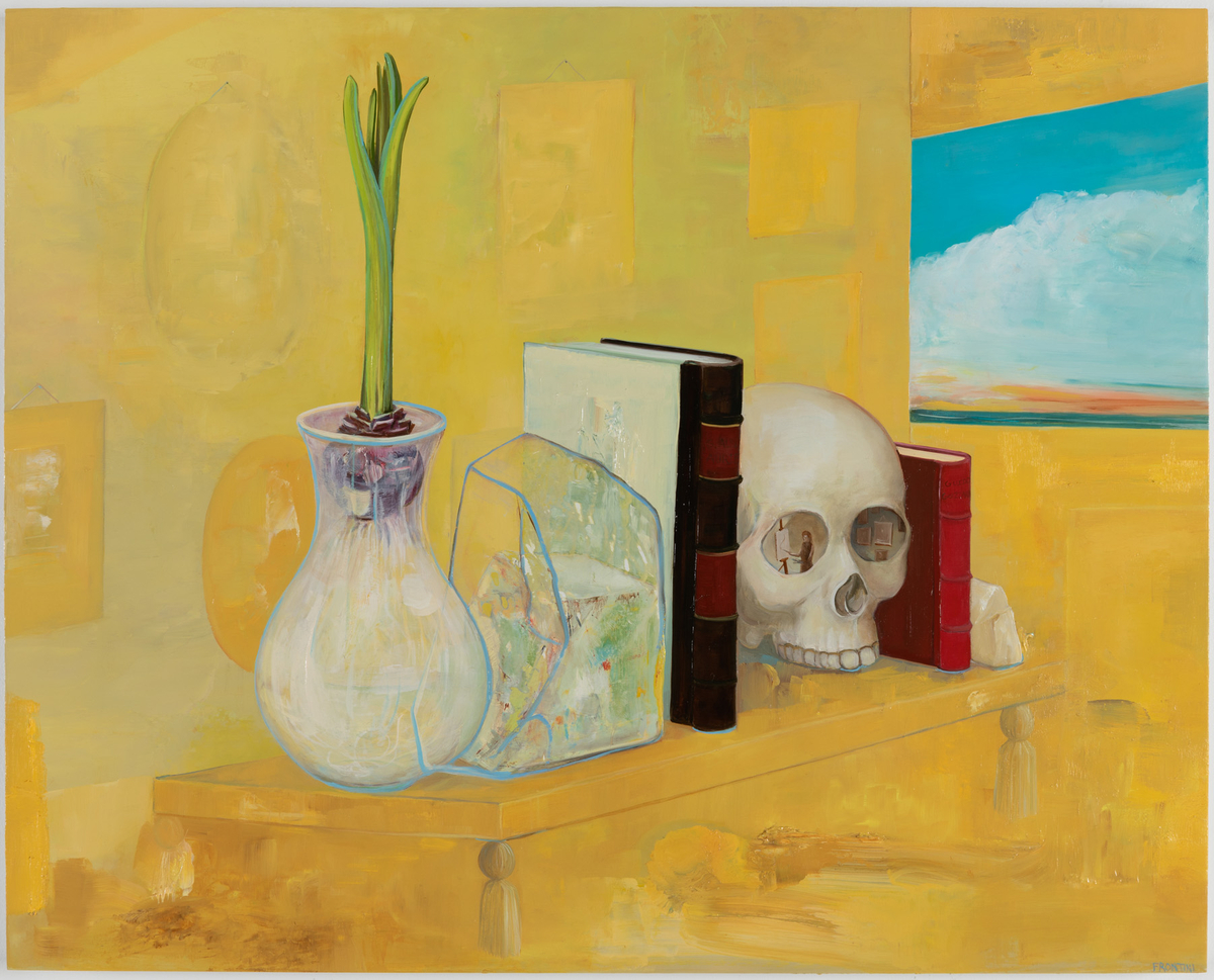 The Shelf in the Yellow Room