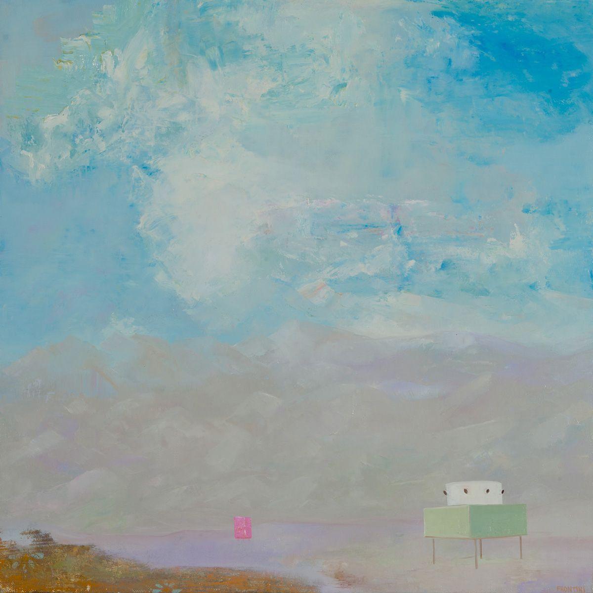 Proposal For Canvas Desert House #1 (After Albert Frey)