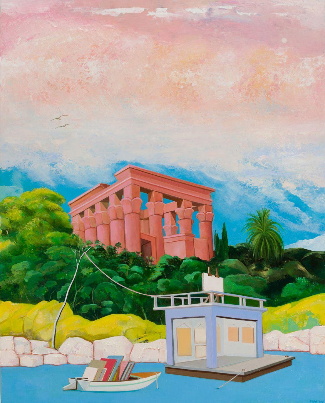 Artist in Residence at Philae, Aswan