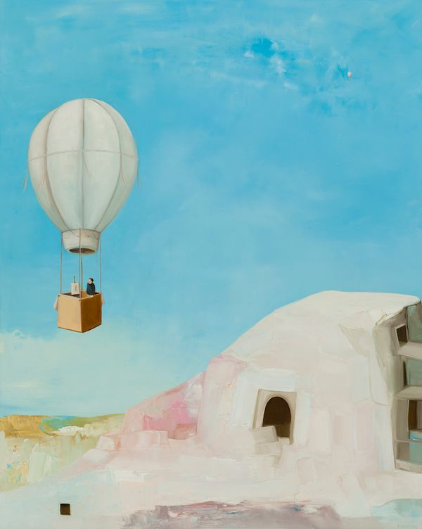 Dream of Cappadocia #3, Hermit Painter
