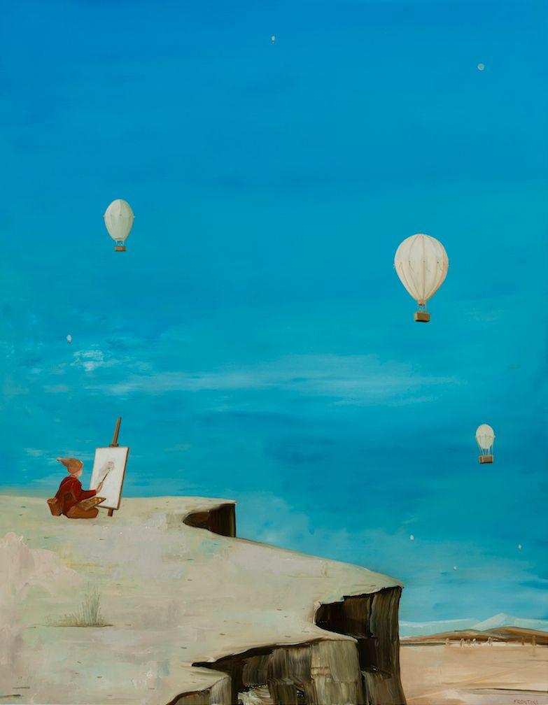 The Painter in Cappadocia #1