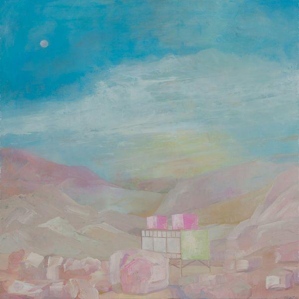Proposal For Canvas Desert House #3 (After Albert Frey)