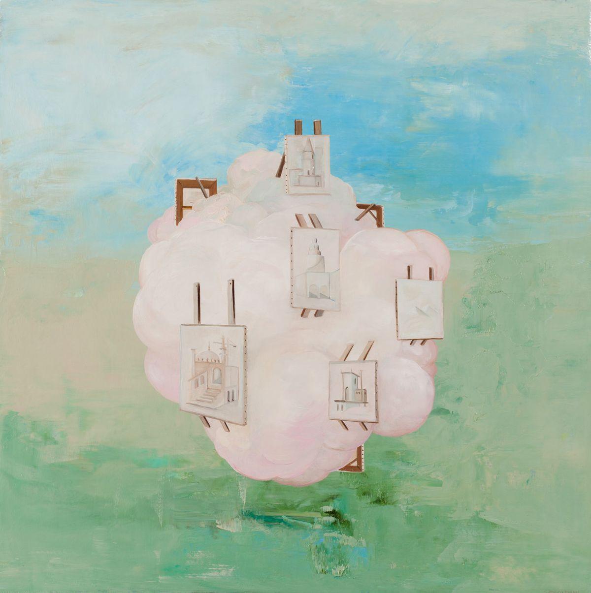 Proposal for Dream Cloud Retrospective (Canadian Pavilion Airspace, Venice Biennale 2021)