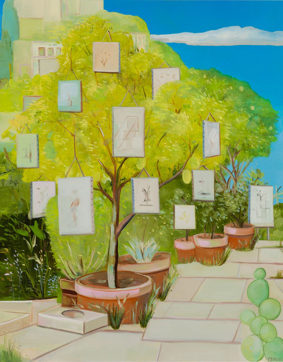 Backyard Retrospective Exhibition, Silverlake, CA