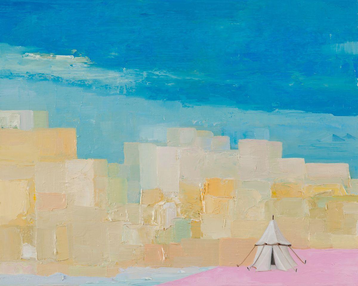 Tent of Abram, Giza Acropolis