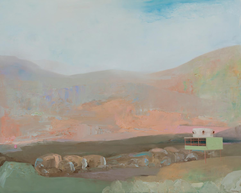 Proposal For Canvas Desert House #2 (After Albert Frey)