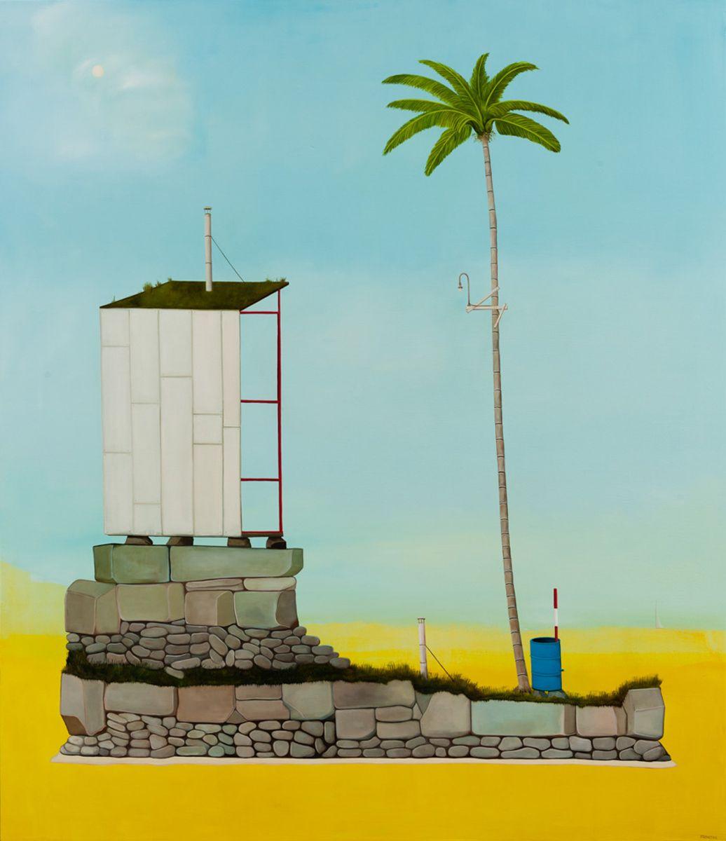 Artist's Stuido at the Oasis